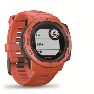 Premium HN+ a noviny + hodinky Garmin Instinct Red Optic