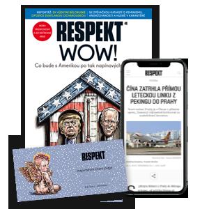 Respekt Premium Voucher Vánoce 2020